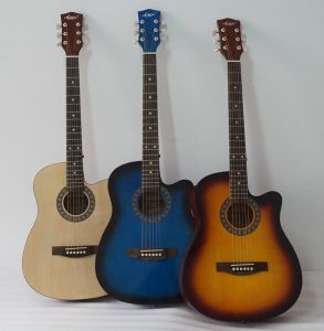 38 Inch Colour Acoustic Folk Guitar for Children pictures & photos
