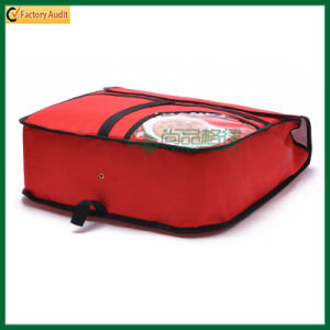 Magic Tape Closure Insulated Carrier Pizza Bags (TP-PB041) pictures & photos