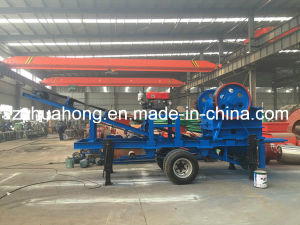 China Mobile Crusher Mineral/Stone/Ores Jaw Crusher Plant pictures & photos
