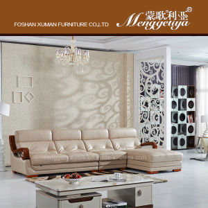 High Quality Sectional Genuine Leather Sofa(909#
