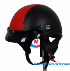 Motorcycle Accessories Motorcycle Helmet of Leather pictures & photos