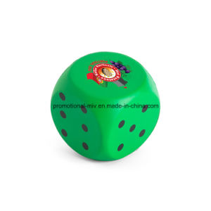 Promotional Dice PU Stress Balls Stress Toys Stress Rollers pictures & photos