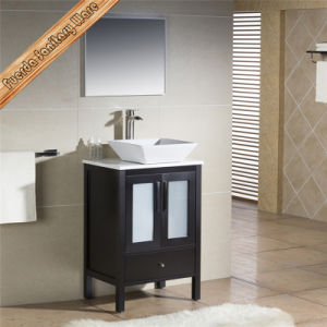 Fed-1180 Oak Floor Mounted Bathroom Combo Vanity Solid Wood Bathroom Vanity pictures & photos