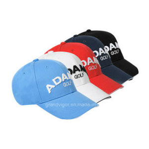 Custom Korean Style Golf Cap with High Quality Embroidery pictures & photos