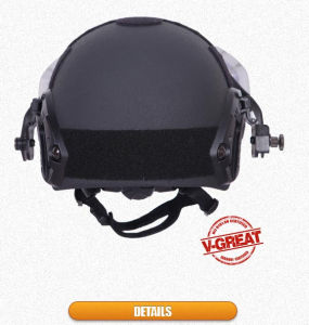 Ballistic/Bulletproof Fast Helmet with Visor pictures & photos