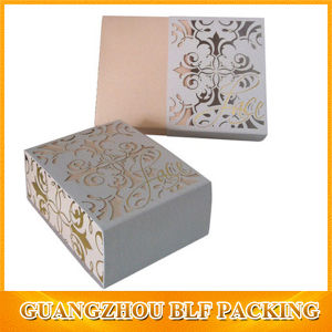 Drawer Kraft/White Paper Box Slide Open Box pictures & photos