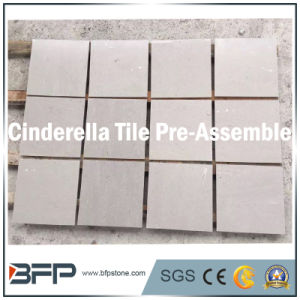 Grer Color Cinderella 10mm Thick Marble Tile for Flooring, Wall Panel pictures & photos