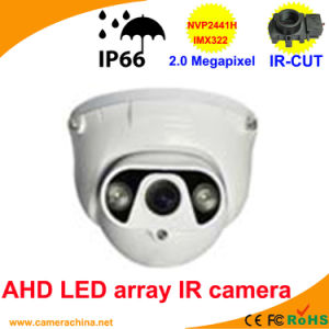 50m LED Array IR Dome2.0 Megapixel Ahd Camera pictures & photos