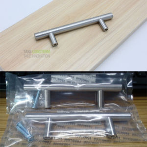 Brushed Nickel T Bar Kitchen Cabinet Pull Handle pictures & photos