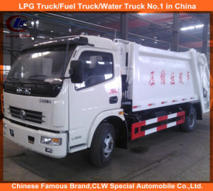 2016 New Design Dongfeng Compactor Garbage Trucks 6cbm for Sale pictures & photos