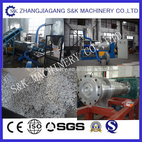 PP Film Squeezing Dewatering and Granulator Machine pictures & photos