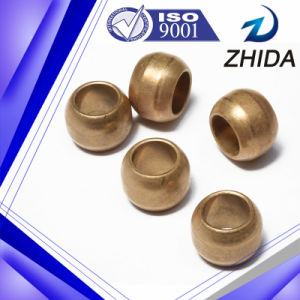 Ball Shaped Bronze Based Cusn9010 Bushing for Motor