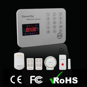Hot LED Touch Panel GSM Intelligent Security Home Alarm System pictures & photos
