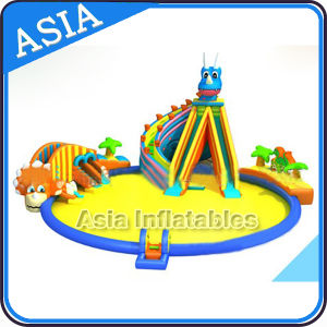Factory Custom Inflatable Water Park, Outdoor PVC Inflatable Water Toys for Sale pictures & photos