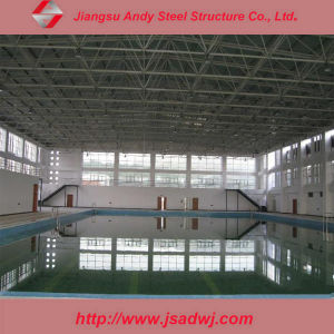 China Pre Engineered Steel Truss Roof For Swimming Pool