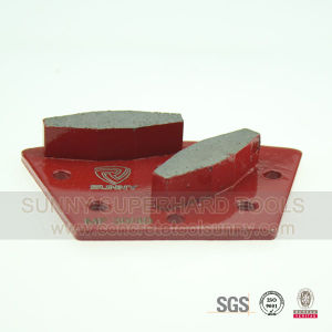 Concrete Trapezoid Shoes with 5 Install Holes pictures & photos