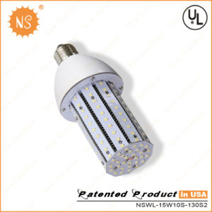 EU Patent Fin Aluminum E27 E40 15W LED Corn Light