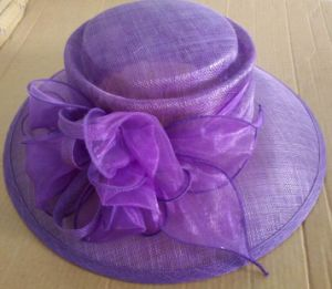 Custom Design Headwear Sinamay Hat pictures & photos