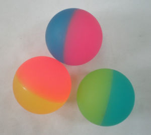 High Quality Wholesale High Rubber Clear Bouncing Ball pictures & photos
