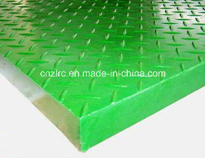 Factory Direct Supply FRP GRP Fiberglass Grating with Cover pictures & photos