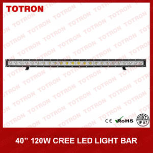 """40"""" 120W Single Row Curved LED off Road Light Bar for 4X4 (TLB1120X) pictures & photos"""