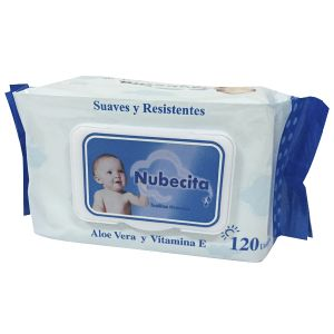 Non Woven Spunlace Baby Wipes 120PCS pictures & photos