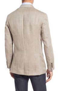 OEM Wholesale Fashion Trim Fit Linen Suit Blazer for Men pictures & photos