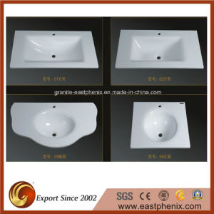 Supply Nano Crystallized Glass Stone Ceramic Sink pictures & photos