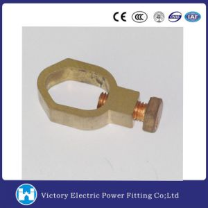 Copper Ground Rod Clamp for Pole Line pictures & photos
