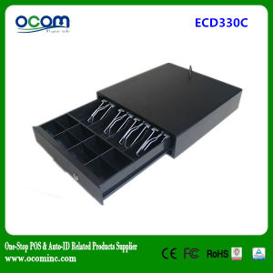 Black Rj11 POS Metal Cash Drawer with 12V/24V Optional pictures & photos
