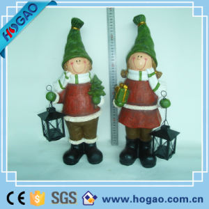 OEM Polyresin Lovely Garden Figurine Home Decoration pictures & photos