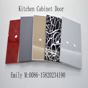 Green Glossy UV MDF Board for Kitchen Furniture (ZHUV factory) pictures & photos