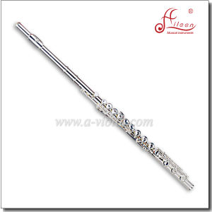 Professional 17 Holes Silver Plated Flute pictures & photos
