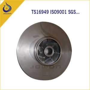 Sand Casting Iron Casting Water Pump Spare Parts Impeller pictures & photos