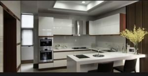 2017 New Design High Glossy Home Furniture Kitchen Cabinet Yb1709392 pictures & photos