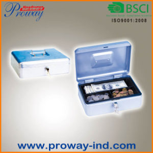 Hot Sale Classic Cash Box with Combination Lock pictures & photos