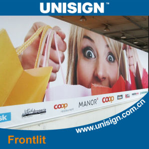 Economic PVC Frontlit Flex Banner (LFG35/440) pictures & photos