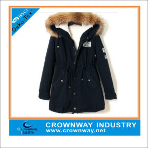 Custom Best Fur Parka Jacket for Ladies pictures & photos