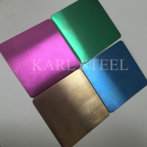 Hi-Quality Stainless Steel Hl Sheet for Decoration Materials pictures & photos