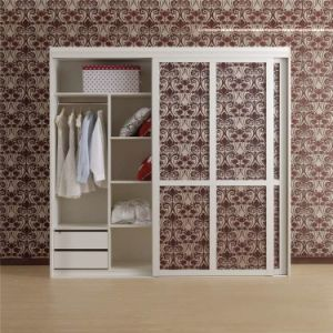 Modern White Wooden Wardrobe Bedroom pictures & photos