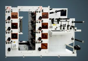 Rotary Flexo Printing Machine with All UV 8 Color pictures & photos