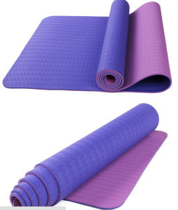 Double Layer TPE Yoga Mat pictures & photos