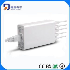 5-USB Ports AC Power Charger Adapter (LCK-5B25) pictures & photos