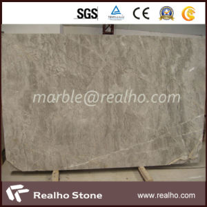 Polished Italian Grey Marble Slab for Sale