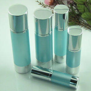 15ml, 30ml, 50ml Cosmetic Plastic Airless Lotion Bottle pictures & photos