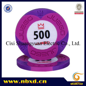 9.5g 2-Tone Sticker Poker Chip (SY-C15) pictures & photos