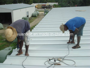 Advanced Functional Material Steel Structure of Roof Panel Installation pictures & photos