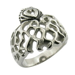 Stainless Steel Jewelry Skull Ring pictures & photos