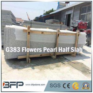 G383 Flowers Pearl Grey Granite Half Slab for Vanity Tops pictures & photos