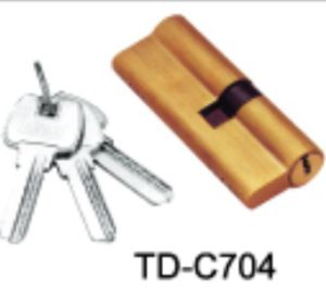 Door Lock Key Cylinder Lock Body Door Acessroies Td-C704 pictures & photos